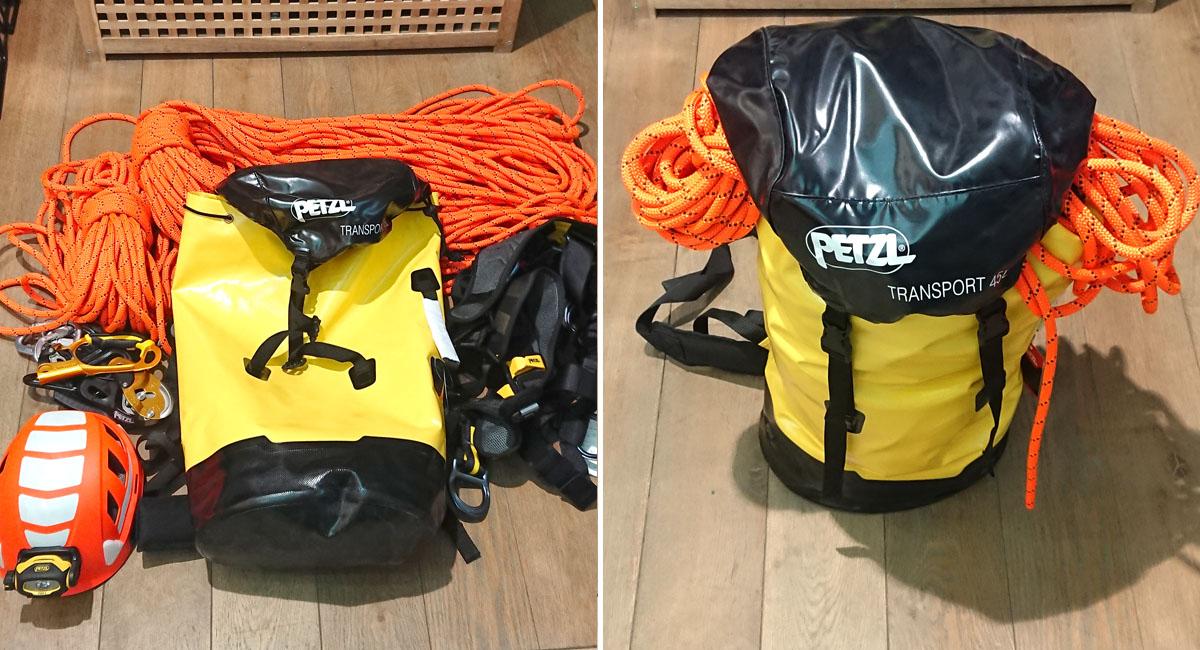 Самый большой транспортный мешок Petzl