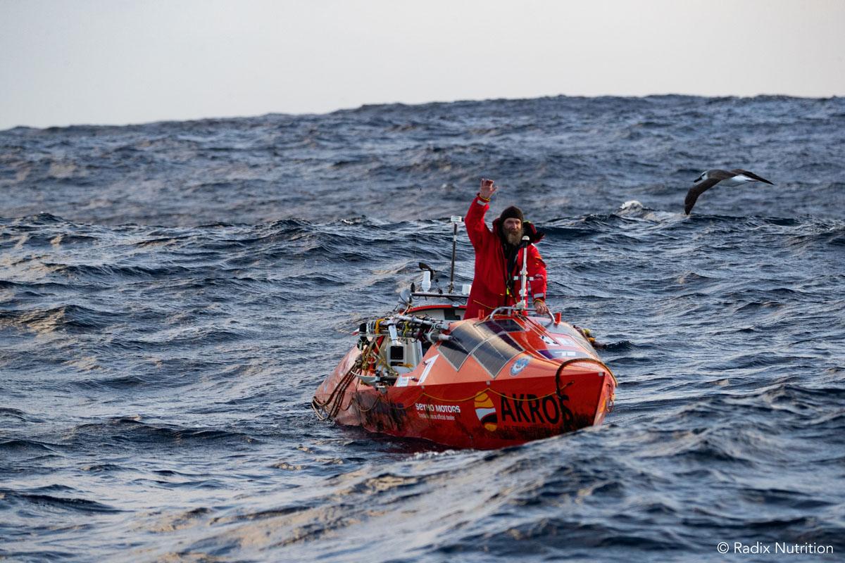 Фёдор Конюхов открыл новую страницу в истории океанской гребли