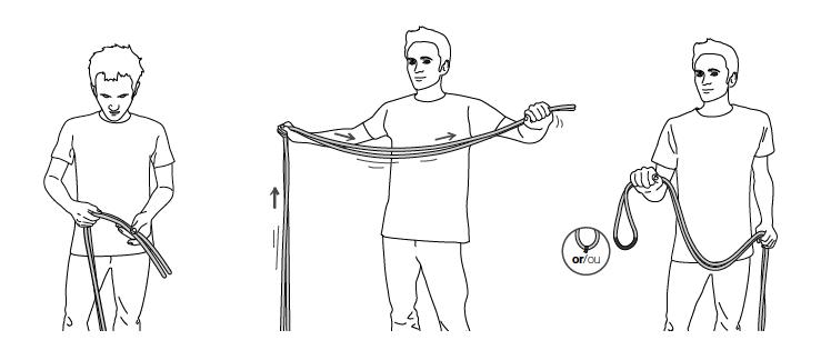 Проверка длины и маркировки середины каната