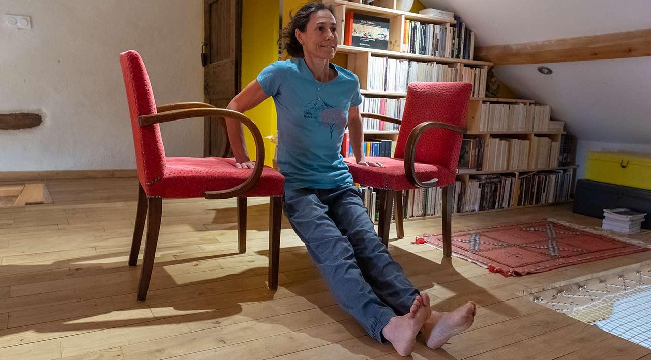 Отжимания от стульев