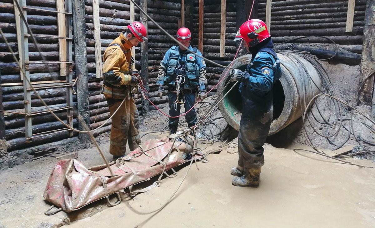 Спасательные работы в сложных стесненных условиях