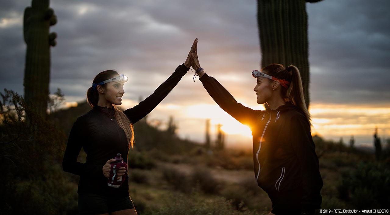 Ночные пробежки среди кактусов Аризоны