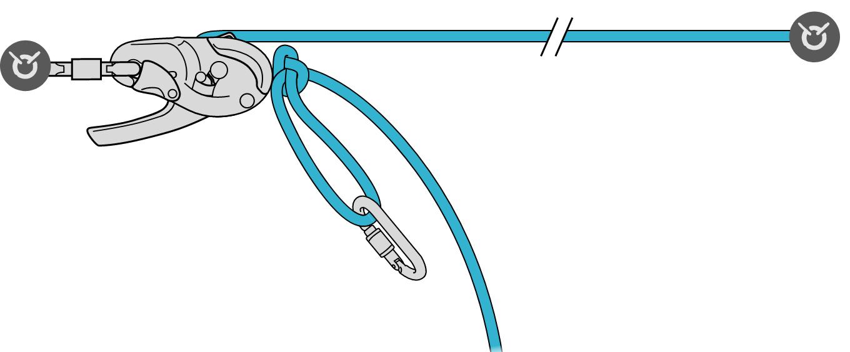 Нужен ли стопорный узел на устройстве при установке троллея