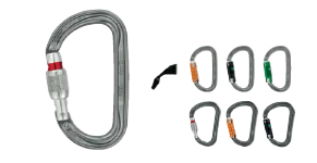 Карабины PETZL Am'D, WILLIAM